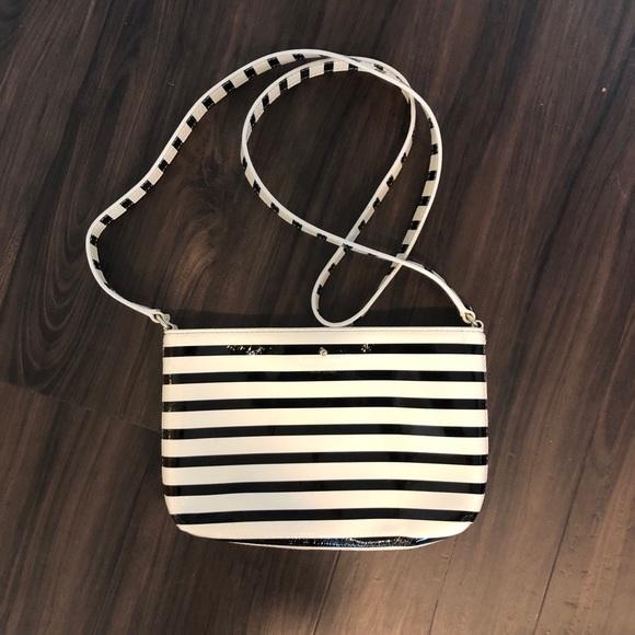 kate spade Handbags - Kate Spade Striped Crossbody Bag